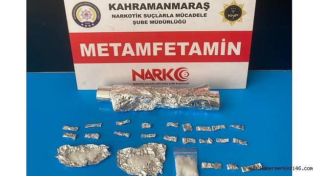 Kahramanmaraş'ta uyuşturucu alışverişi yapan 2 kişi tutuklandı