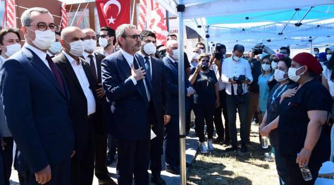 39 yatak kapasiteli rehabilitasyon merkezi açıldı..