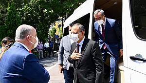 AK Partili Mehmet Özhaseki Kahramanmaraş'ta