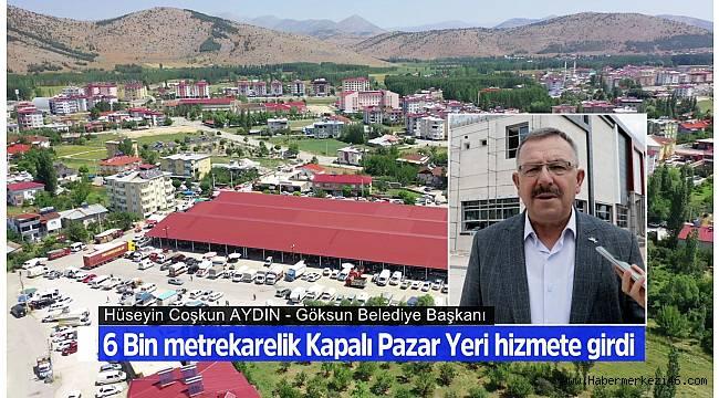 """Başkan Aydın: """"Halkımızı ilçelerimiz arasında en büyük kapalı Pazar alanına kavuşturmuş bulunmaktayız"""""""