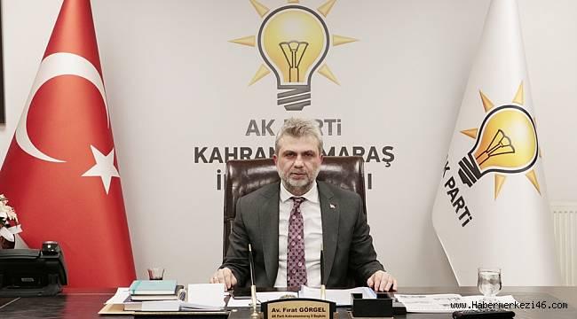 AK Parti İl Başkanı Görgel : Kahramanmaraş'ımız Aşı Konusunda Öncü Şehir Olmalı