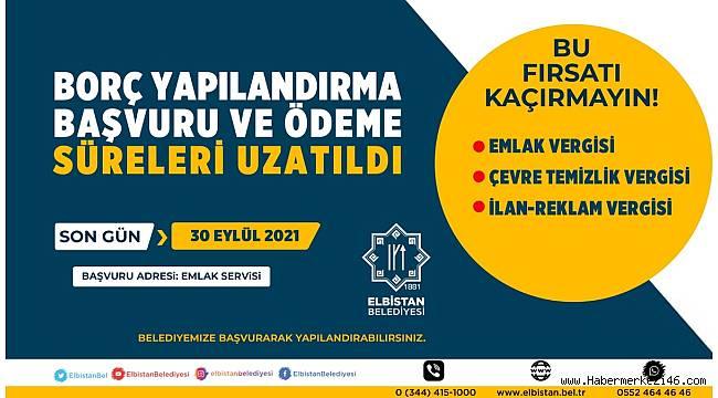 Elbistan Belediyesi borcu olan vatandaşlara çağrıda bulundu
