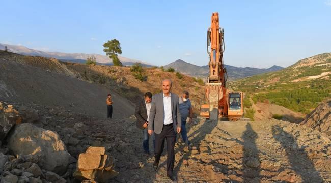 Başkan Okay'dan Dulkadiroğlu'nu Karış Karış Saran Hizmet