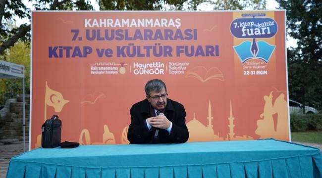 """İnanç: """"Kahramanmaraş Tarihin Her Devrinde Kültür Başkentidir"""""""
