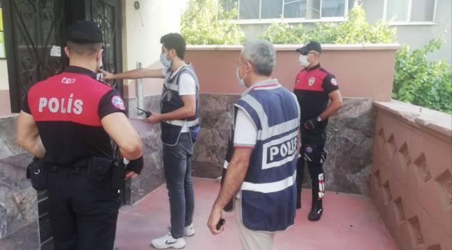 Kahramanmaraş'ta tam 69 kişi yakalandı