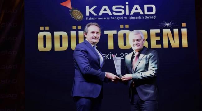 KASİAD Şehre Değer Katan Kişileri Ödüllendirdi