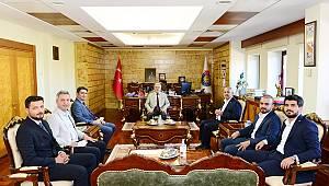 Milletvekili Kılıç, Rektör Can'dan Üniversite Hakkında Bilgiler Aldı