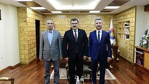 TÜBİTAK Başkanı Prof. Dr. Hasan Mandal'dan KSÜ' ye Ziyaret