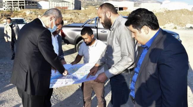 Yeni sanayi alanı Dulkadiroğlu ve Kahramanmaraş ekonomisine güç katacak