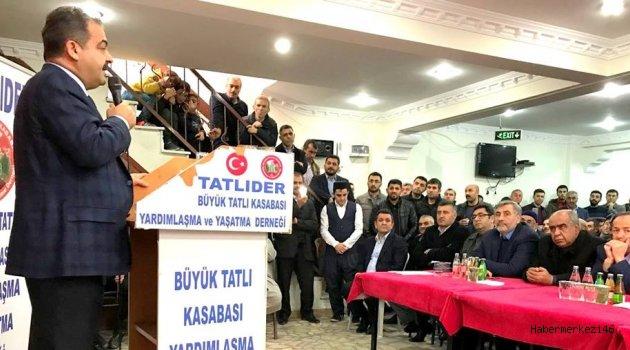 ÇİTİL İSTANBUL'DA HEMŞEHRİLERİYLE BİRARAYA GELDİ