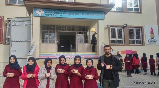 """ILICA İMAM HATİP'DE """"ÇORBADA TUZUM BULUNSUN"""" ETKİNLİĞİ.."""